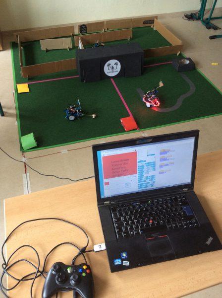 Roboterspielfeld